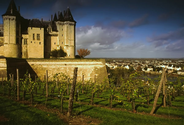 Chateau Saumur, copyright: David Hughes | Dreamstime.com