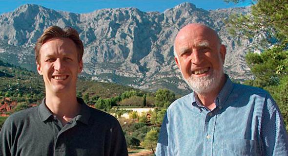 Sylvain und Henning Hoesch, © Weingut