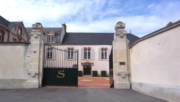 Mehr Noblesse geht kaum - Champagne Salon in Le Mesnil