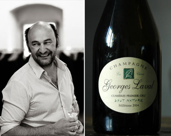 Vincent Laval | Foto links ©: Thomas Iversen, Mad about Wine