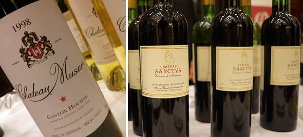 alt eingesessen und neu durchstartend, zwei Vertreter des libanesischen Weinbaus