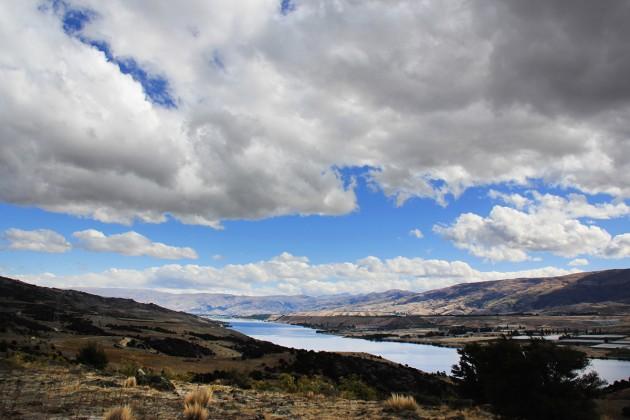 Blick auf Lake Dunstan, Copyright: C.Raffelt