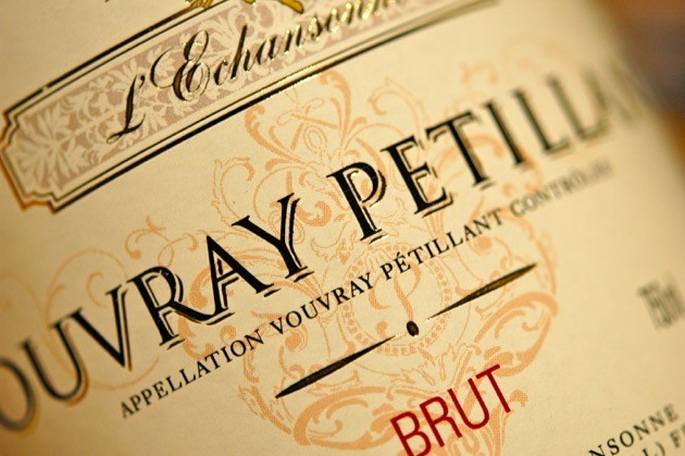 Etikett Vouvray Petillant