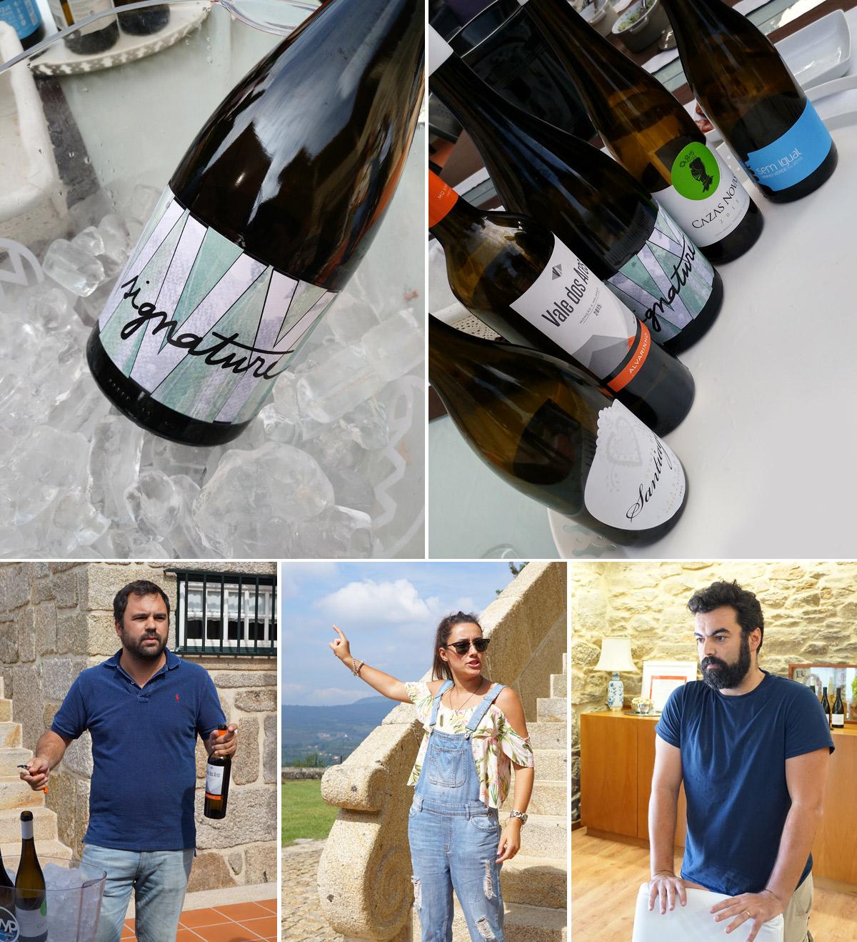 Copyright: C. Raffelt, Die Weine und ihre Macher. Miguel Queimado, Joana Santiago, Vasco Magalhães